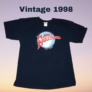 Vintage Planet Hollywood 1998 NYC Tee